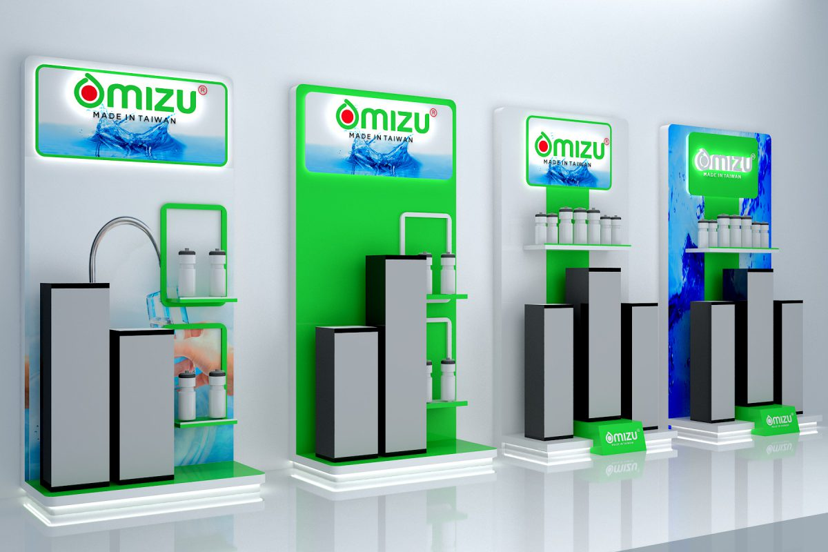 Thiết kế vách lọc nước Omizu