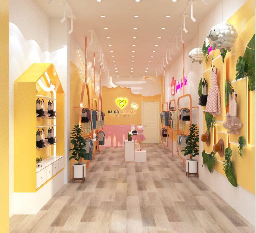 Showroom thời trang Bé Gà 2