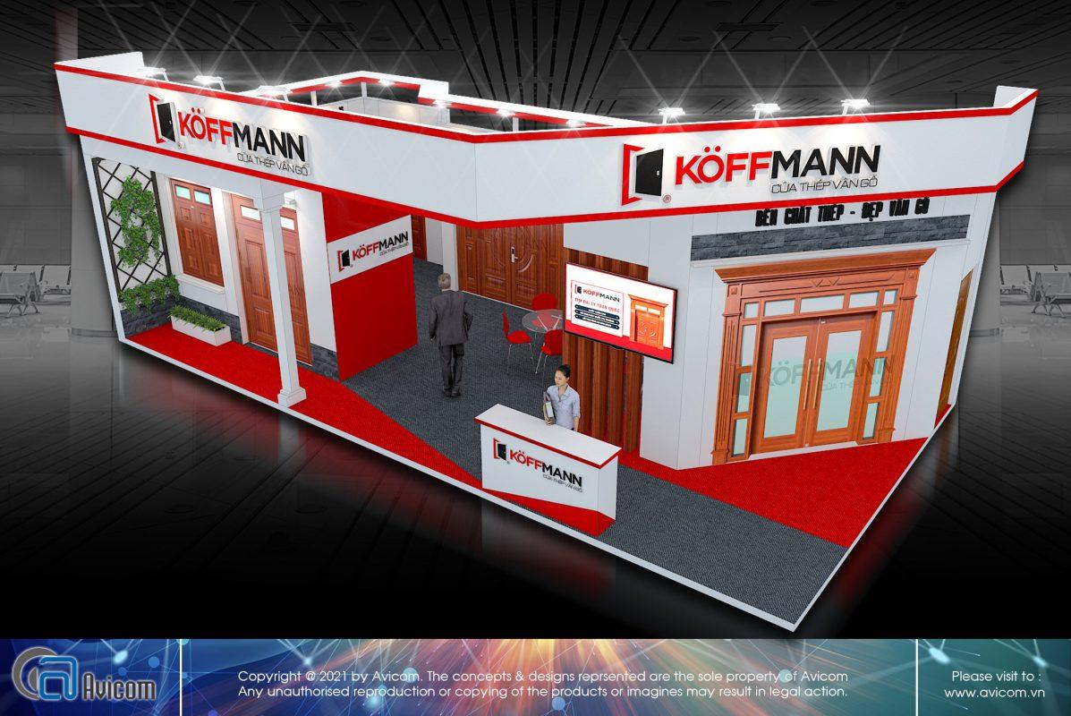 Thiết kế thi công triển lãm Koffmann