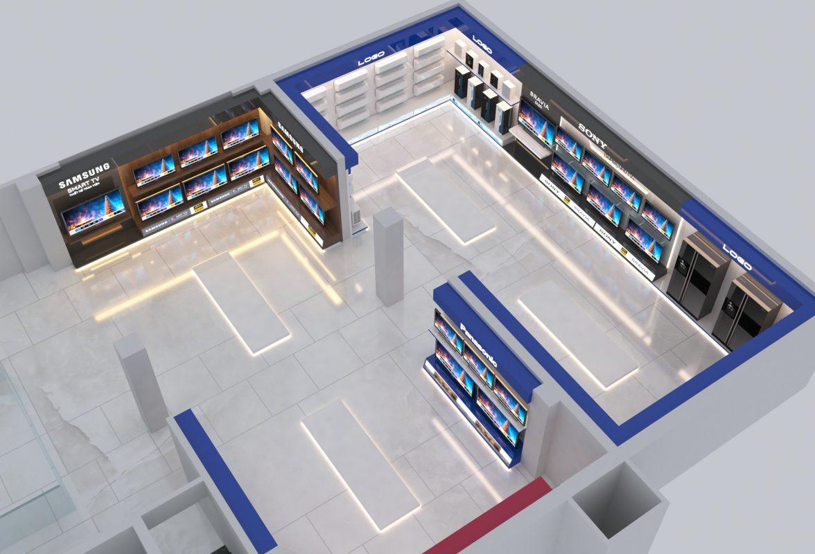 Thi công gian hàng triển lãm Vietbuild 2021
